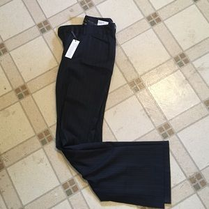 Brand new pin stripe editor pants from express